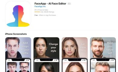 FaceApp y… ¿el Gran Hermano?
